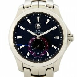 Tag Heuer Link Tiger Woods Model Automatic Wjf211d.ba0570 Date Watch Wl38350