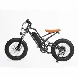20in Traveling Electric Assisted Bicycle 48v750w Motor 624wh Li-lon Battery Dou