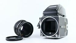 [near Mint]hasselblad 500c/m Pme90 Finder With Carl Zeiss Planar 80mm F2.8 T