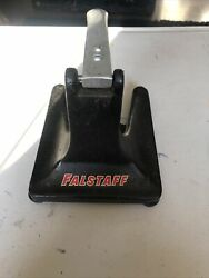 Vintage Cast Iron Bar/counter Top Punch Style Falstaff Beer Can Opener