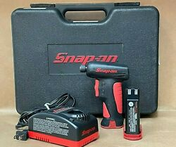 Snap-on Cts561 Cordless Screwdriver- Batts, Charger, Case