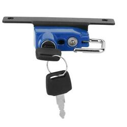 New Motorcycle Helmet Lock Right Side Alloy Anti-theft Fit For R Ninetblue