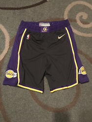 Lakers Shorts Earned Team Issued Authentic Size 40r Nike Pro Cut 2020-21