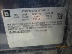 Loaded Beam Axle Vin P 4th Digit Limited Drum Brakes Fits 13-16 Cruze 485431