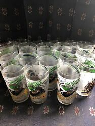Preakness Glass 1985 Pimlico Official Drinking Glass Winner Horse Racing Blue