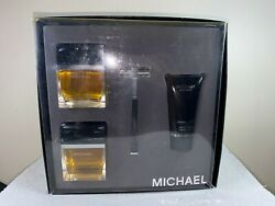 MICHAEL FOR MEN BY MICHAEL KORS EDT 2.5 AFTERSHAVE 2.5 SHAVE CREAM 1.7 RAZORA24A $94.12
