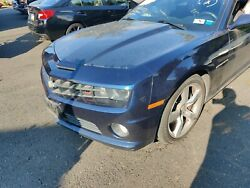 10-13 Camaro Ss Complete Front End Body Clip With Hood Fenders Bumper Blue