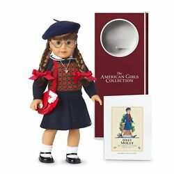 Nib American Girl 35th Anniversary Collection Molly Mcintire Doll And Accessories