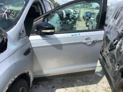 Driver Front Door Electric Windows With Automatic Up Fits 15-18 Escape Silver