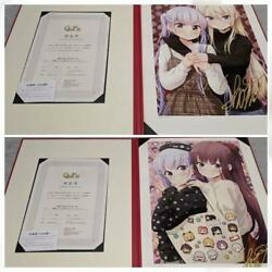 New Game Autographed Art Graph Limited 100 F/s From Japan