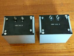 1 Western Electric Indr 241-d Inductor Choke Transformer For Tube Amplifiers