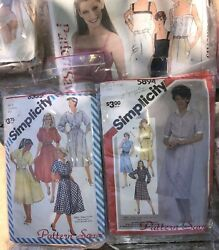 Vintage 70+ Sewing Patterns Lot Simplicity +more Many Sizes 1960s 1970s 1980s