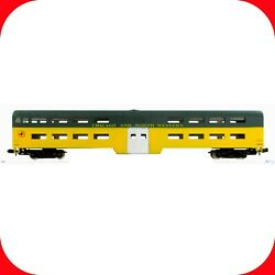 N Scale Chicago And North Western Cnw Bi-level Passenger Coach Car -- Con-cor 4401