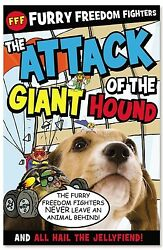 The Attack of the Giant Hound and All Hail the Jellyfiend by Nick Page