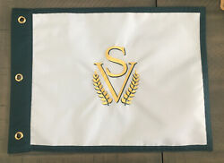 Sage Valley Golf Club Embroidered Golf Pin Flag