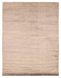 Hand-knotted Tribal Carpet 9'2 X 12'1 Traditional Vintage Wool Rug