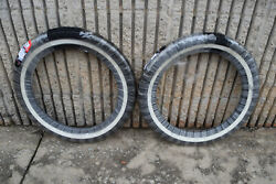 VRM 011 Vintage White Wall Street Tire Set Front amp; Rear