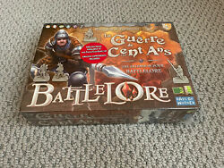Battlelore Hundred Years War Expansion | French Edition | Days Of Wonder | New