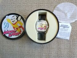 Mighty Mouse 50 Years Anniversary Watch 2005