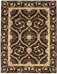 Modern Hand-knotted Carpet 9and0392 X 11and0399 Oriental Wool Area Rug