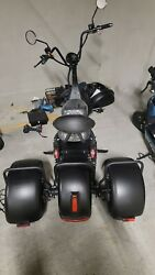 3000w Fat Tire Electric Scooter E-bike Motorcycle 60v25ah