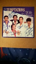 Temptations Signed 45 To Be Continued / Loa Roger Epperson-rr Auctionandnbsp