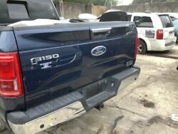 Trunk/hatch/tailgate With Tailgate Step Fits 15-17 Ford F150 Pickup Blue