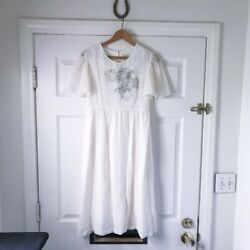 Built by Wendy ethereal white mini wedding dress $95.00
