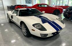 2005 Ford Ford Gt Coupe 2d 2005 Ford Gt Coupe 2d 10707 Miles Blue/white