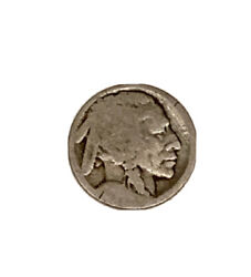 Very Rare Indian Head Buffalo Nickle With No Date And No Cents Marking