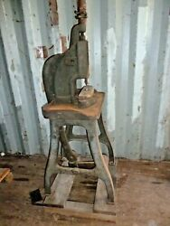 Rare Antique Foot Operated Punch Press By Standard Machinery Co.