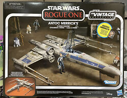 Star Wars The Vintage Collection Antoc Merrickand039s X-wing In Hand No Figure