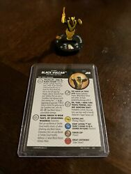 Black Vulcan 072 Justice League Unlimited Dc Heroclix Chase Rare