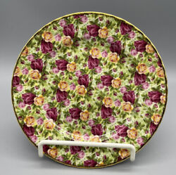 Royal Albert Old Country Roses Nwt Soft Chintz Collection Round Salad Plate