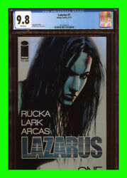 Lazarus 1 Cgc 9.8 Greg Rucka Tv White Pages