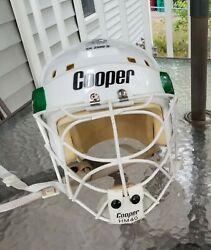 Cooper Sk 2500 S Helmet With Cooper Hm40 Catand039s Eye Cage