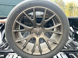 Factory Srt Brass Monkey Wheels With Nitto 555 Drag Radials