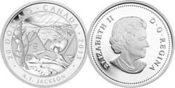 2013 And039a.y. Jackson - Group Of Sevenand039 Proof 20 Silver Coin 1oz .9999 Fine13277