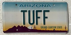 Vanity License Plate Collectible Authentic Personalized