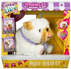 Little Live Pets My Kissing Puppy Wrinkles New