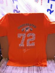 Miami Dolphins - Undefeated Season T-shirt - Large