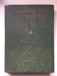 Antique Gerald R. Ford Autographed 1929 The Pioneer Year Book Rare