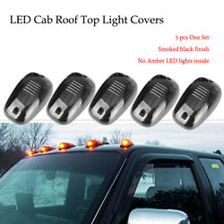 Led Cab Roof Top Marker Running Lights Truck For Suv Pickup Off Road Smoke White