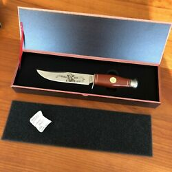 Falkner Buffalo Bill Bowie Knife Wild West Bowie Knives Collectors Edition Hga