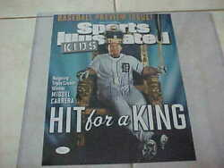 Miguel Cabrera Signed Detroit Tigers Sports Illustrated 11x14 Photo Jsa M40441