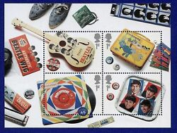 Beatles 20 X 1st Class Stamps - Unused And Mint - 5 Sheets - Now Collectible