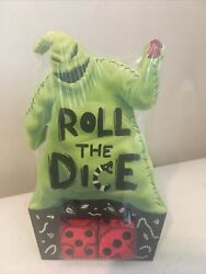 Nightmare Before Christmas Countdown To Halloween Oogie Boogie Roll The Dice New
