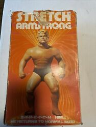 Vintage Stretch Armstrong With Box