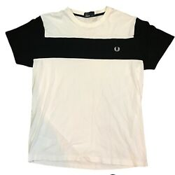 Fred Perry Shirt Size M Black White $49.99