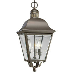 Spark And Spruce 23897-abcb Winona Outdoor Pendant Or Chandeller Antique Bronze